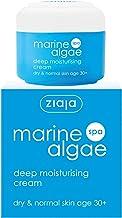 Ziaja - Crema hidratante profunda de algas marinas – Paquete de 1 x 50 ml – Total: 50 ml