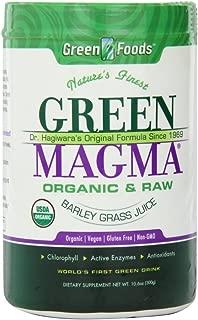 green barley juice