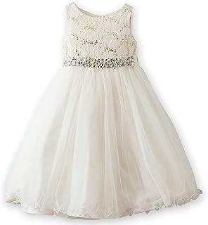 (キャサリンコテージ) Catherine Cottage子供服 MB340 子供ドレス 大粒ビジューベルトチュールドレス