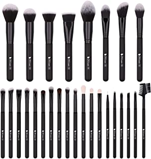 DUCARE Professional Synthetic Goat Pony Hair Foundation Blending Face Eye Makeup Brushes Kit - 27 Pieces Brush