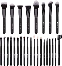 DUcare Makeup Brushes 27Pcs Professional Makeup Brush Set Premium Synthetic Goat Pony Hair Kabuki Foundation Blending Brush Face Powder Blush Concealers Eye Shadows Make Up Brushes Kit