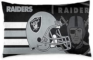 oakland raiders body pillow