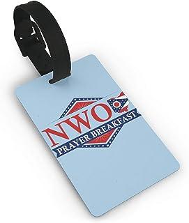 NWO New World Order Prayer Breakfast 旅行荷物タグ手荷物スーツケースタグ 番号札 旅行用