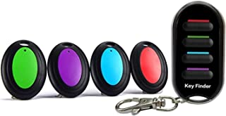 $42 » Wireless Key Finder, Anti-Lost Alarm Keychain LED Flashlight for Key Purse Pet Luggage RF Key Locater Item Tracker