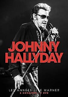 Johnny Hallyday - Les Annees Warner (7 Dvd) [Italia]