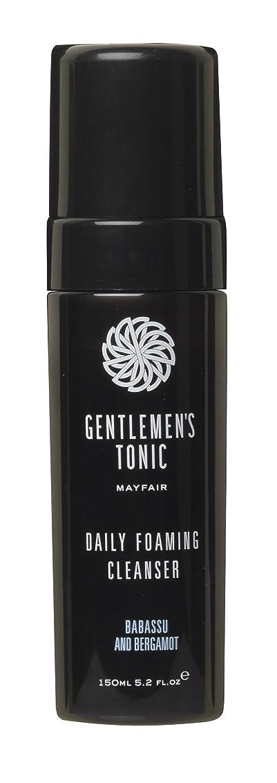 不平を言う部族ブルGentlemen's Tonic ジェントルメンズトニック Foaming Facial Cleanser(フォーミングフェイシャルクレンザー) 175ml