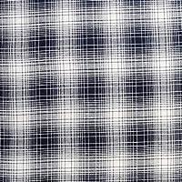 播州 ツイル 生地 ネイビー チェック 50cm単位販売 布 綿 日本製 国産