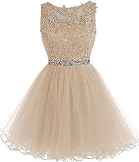 Dydsz Women's Homecoming Prom Dress for Tulle Cocktail Gown