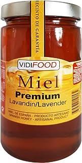 Miel de Lavanda Premium - 1kg - Producida en España - Alta Calidad, tradicional & 100% pura - Aroma Floral y Sabor Rico y Dulce - Amplia variedad de Deliciosos Sabores