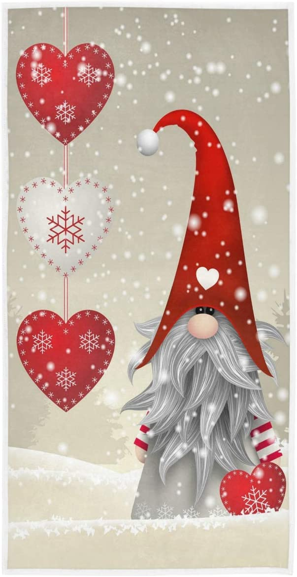 excellence Wamika Winter Christmas Gnome Hand New popularity Xmas Gifts Snowfla Elf Towels