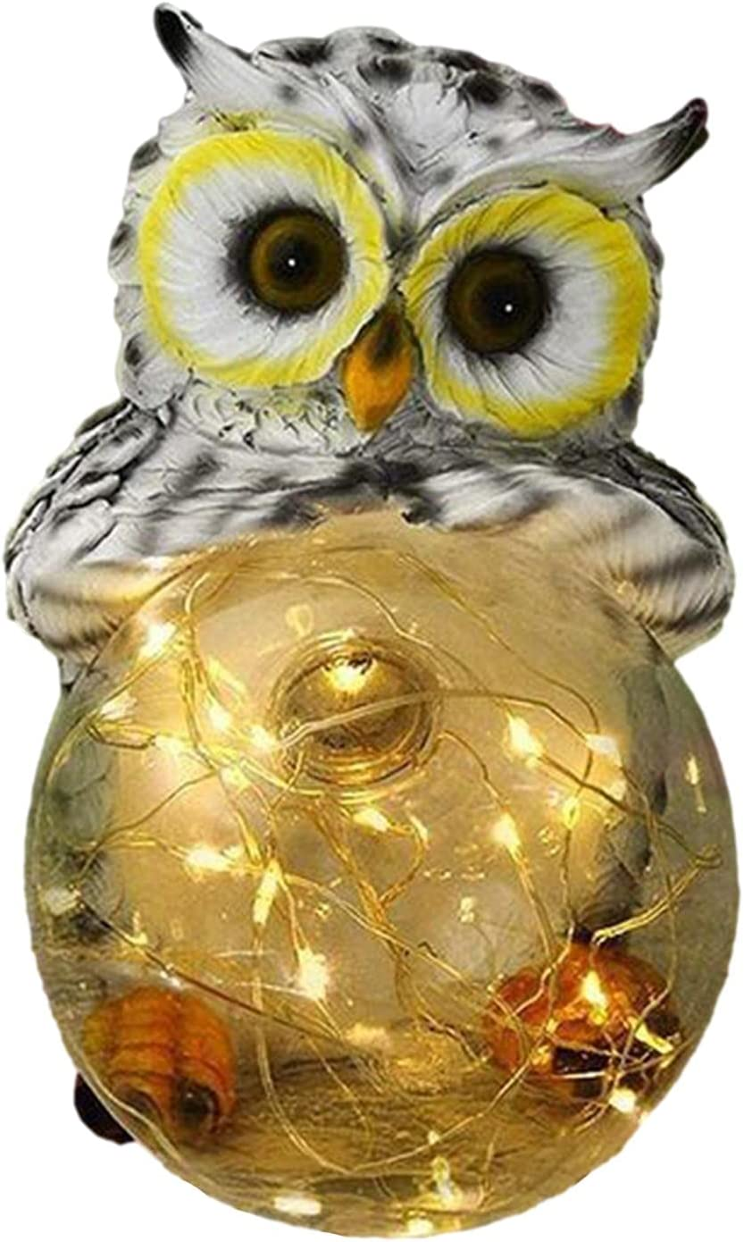 sunflowe Owl Garden Resin Figuri 2021 New item spring and summer new Ornaments Ornament -