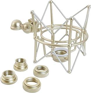 Keepdrum Multi Cambio de araña para varios micrófonos araña de micrófono con adaptador