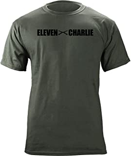 Army Indirect Fire MOS 11 Charlie 11C Veteran T-Shirt