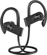 Mpow Flame2 Auriculares Bluetooth 5.0, 13 Horas de reproducción/Tecnología Bass +, Impermeable IPX7 Deportivo para Correr, Auriculares Diseño Mejorado con Pendiente, micrófono para iPhone Android