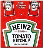 Heinz Tomaten Ketchup 100 Portionsbeutel á 20g (Würfel), 1er Pack (1 x 2 kg)