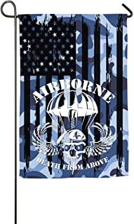 Dongingp Death from Above Garden Flag- 18 X 12 Inch Outdoor Holiday Flags