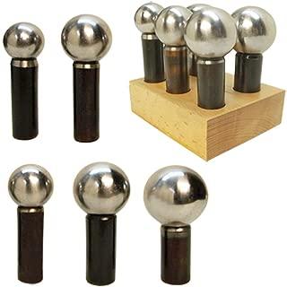 5 PCS Jumbo Jeweler Jewelry Doming Block Dapping Punch Set