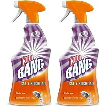 CILLIT Bang - Spray Limpiador Cal y Suciedad, para Baños - Pack 2 x 750 ml: Amazon.es: Salud y cuidado personal