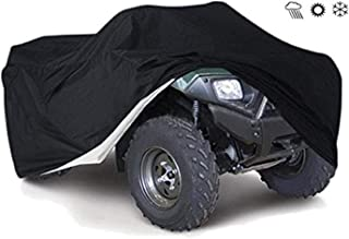 Tokept 190T Black Quad Bike ATV ATC Rain WaterProof Cover XXL Size 88'' x 39.2'' x 42.4''