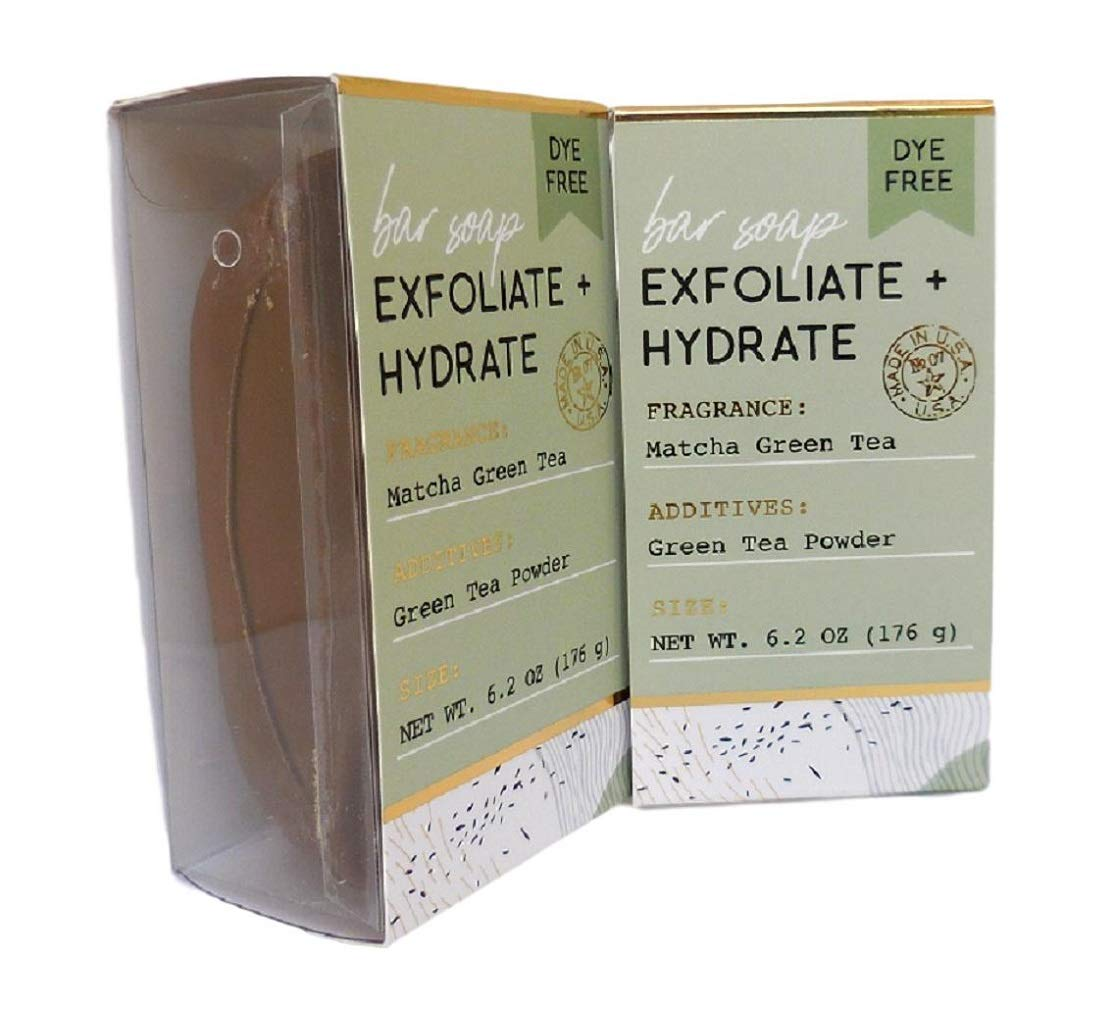 San Francisco Soap Company Exfoliate Green Hydrate Time sale New item Matcha and Te