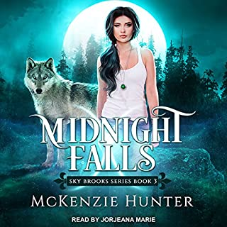 Midnight Falls     Sky Brooks, Book 3              By:                                                                                                                                 McKenzie Hunter                               Narrated by:                                                                                                                                 Jorjeana Marie                      Length: 13 hrs and 15 mins     149 ratings     Overall 4.6