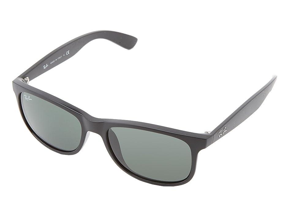 7977408b6c Ray-Ban RB4202 Andy 55mm (Shiny Black) Fashion Sunglasses
