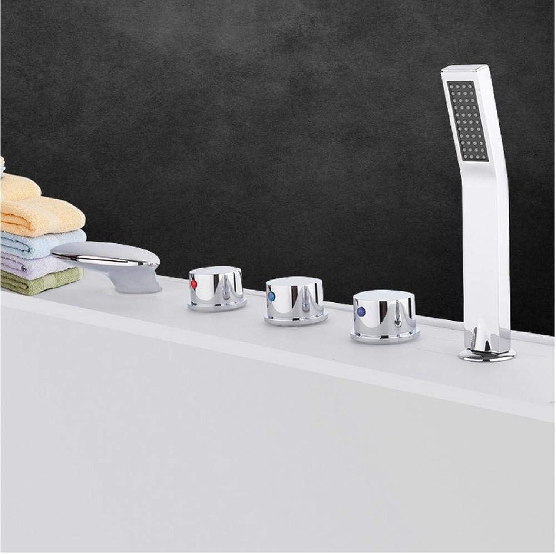 Badewanne Wasserhhne Deck montiert Badezimmer Badewanne Wasserhahn Wasserfall Schwan Mischbatterie Badewanne Badewanne Wasserhahn Kaktus