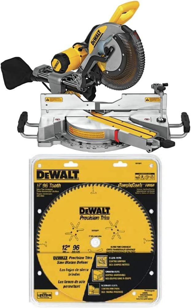 DEWALT DWS779 Blade 12-inch Sliding Compound Miter Saw