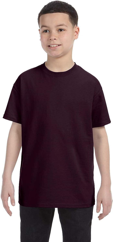 By Gildan Gildan Youth 53 Oz T-Shirt - Dark Chocolate - M - (Style # G500B - Original Label)