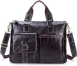 Super Bally Mens Handbag Leather Men Header Layer of Leather Briefcase men's Shoulder Bag Cross Section