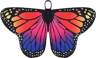 Jeux D Imitation Alvivi Costume De Papillon Butterfly Wings Ailes De Papillon Enfant Fille Gacon Arc En Ciel Cape Foulard Chale Carnaval Deguisement Partie Accesoires De Danse Jeux Et Jouets Hotelaomori Co Jp