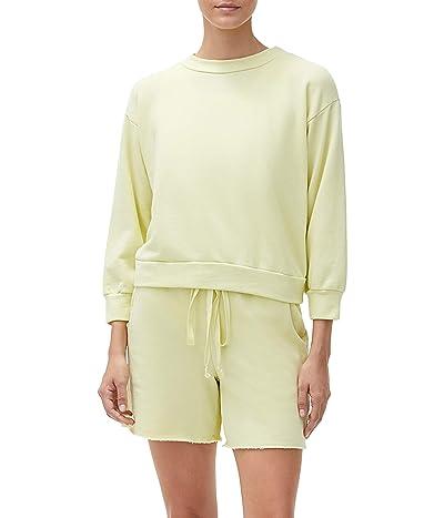 Michael Stars Sia Crop Sweatshirt in Hermosa French Terry Women