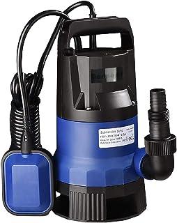 Bomba de sumidero de 1HP, bomba de agua eléctrica limpia su