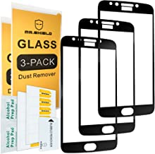 [3-Pack]-Mr.Shield for Motorola Moto E4 Plus/Moto E Plus (4th Generation) [Cut Out for Logo] [Japan Tempered Glass] [9H Hardness] [Full Cover] Screen Protector with Lifetime Replacement