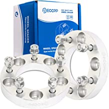 ECCPP 5x4.75 Wheel Spacers 1 inch (25mm) 5 Lug 5x4.75 12x1.5 Studs 2X Replacement fit for Corvette Camaro S10 GMC S15 Jimmy Pontiac Firebird GTO