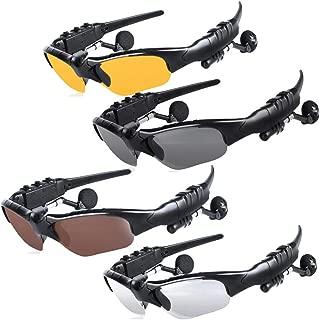 Bluetooth Wireless Bluetooth Headphone Headset Sunglasses Earphone Stereo Music Sun Glasses Headset Handsfree
