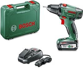 Bosch PSR 14,4 LI-2 - Taladro atornillador a batería (batería de 2.5Ah, sistema de 14.4V, en maletín)