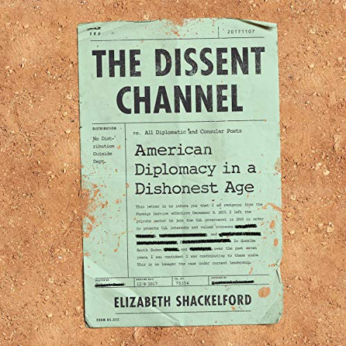 The Dissent Channel audiobook cover art