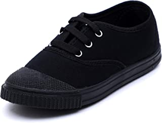 Aircity Boys & Girls Superlight Canvas School Shoes