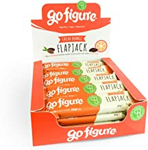 GoFigure Flapjack Snack Bar with Patented SlimBiomeA Weight Management Ingredient Cacao Orange High in Fibre 110 Calories 20 Bars Estimated Price : £ 31,81