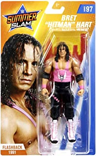 WWE SummerSlam Bret Hitman Hart Action Figure