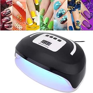 Lámpara de curado para esmaltes de uñas, 96W Luz UV LED Secador de uñas Lámpara de curado Esmaltes para uñas y uñas Arte, profesional 4 temporizador Secador de uñas UV(EU)