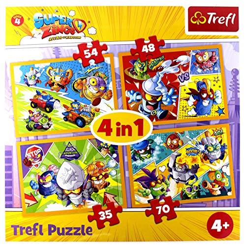 TREFL SuperZings. Magic Box 4w1 [Puzzle]