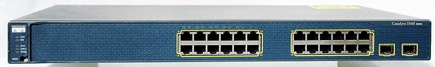Cisco WS-C3560-24TS-S 3560 Series 24 port Catalyst Switch