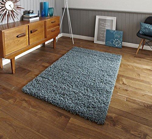 Think Rugs Vista 2236Teppich 200x 290cm, Blaugrün Blau