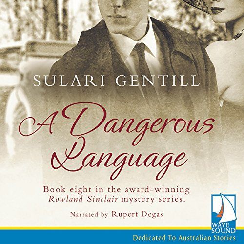 A Dangerous Language audiobook cover art