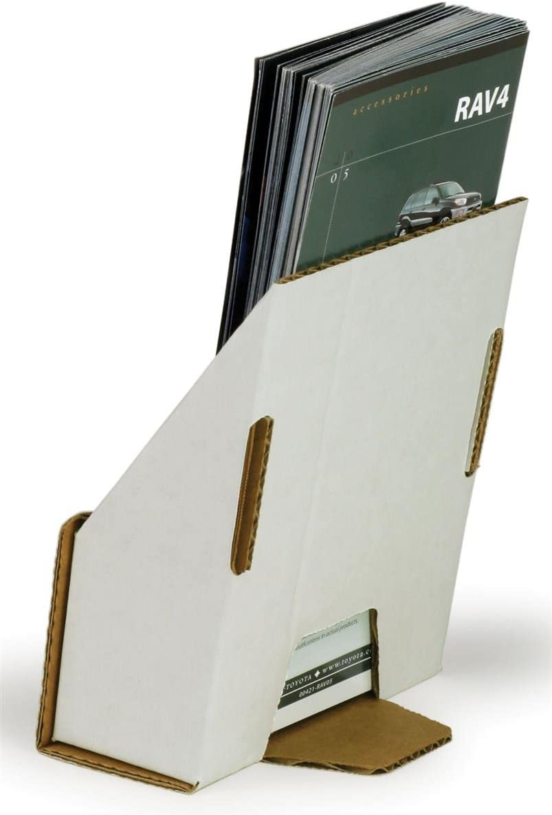 Amazon.com  Case of 20, Corrugated Brochure Holders for 20 x 20 ...