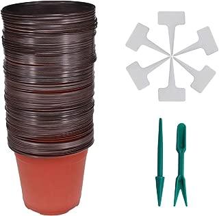 10 cm plastic plant pots