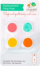 تعویض پد های جایگزین برای برقی ناخن برقی کودک - مراقبت از کودک و Cherry bblüv Trimö - شامل 4 دیسک پرنده برای نوزادان تازه متولد شده