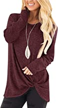 Best maroon shirt womens long sleeve Reviews